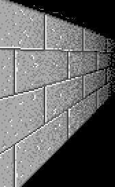 Left wall tile