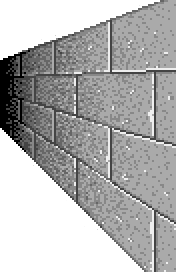 Right wall tile